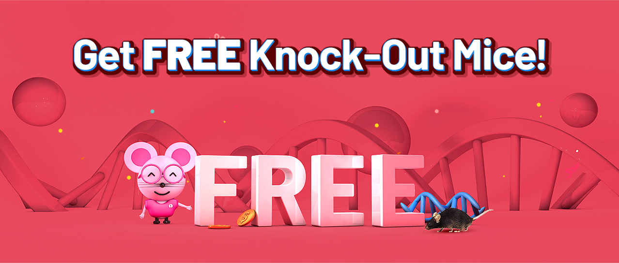 Get FREE Knock-Out Mice!